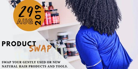 Curly Girl Product Swap tickets