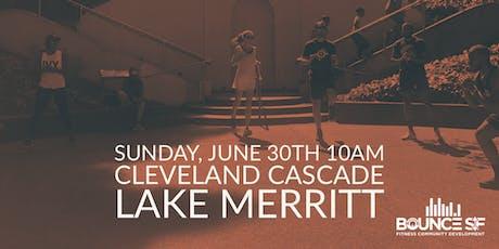 BOUNCE SF HIIT Workout @ Cleveland Cascade (Lake Merritt) tickets