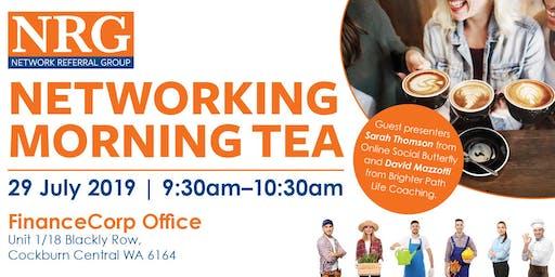 NRG Networking Morning Tea
