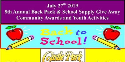 Riverside All of US or NONE Back Pack & School Supply Giveaway  2019
