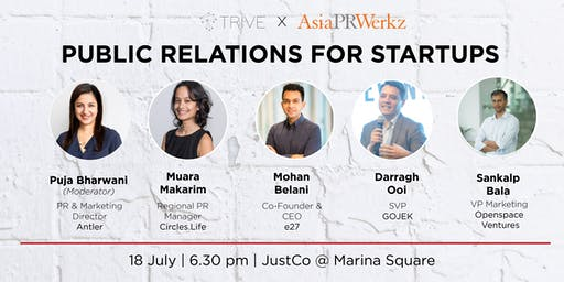 Panel Discussion: Public Relations for Start-ups