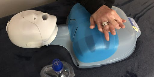 AHA Adult/Pediatric CPR AED with option of certification and First Aid