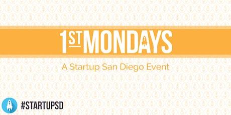 StartupSD 1st Mondays - September 2019 tickets