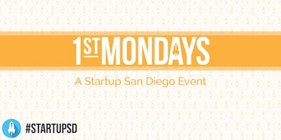 StartupSD 1st Mondays - October 2019