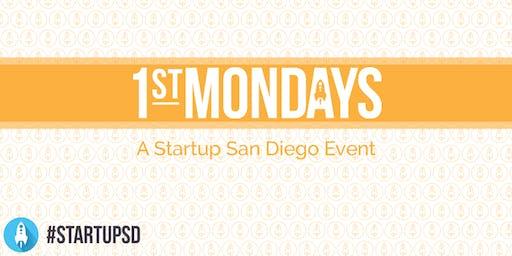 StartupSD 1st Mondays - October 2019