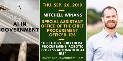 AI in Government – Mitchell Winans, IRS