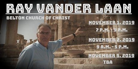 Ray Vander Laan tickets
