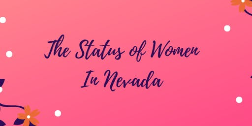 Status of Women In Nevada Monthly Meeting (7/25/19)