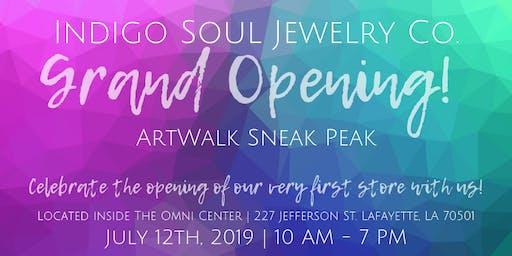 Grand Opening & ArtWalk Sneak Peak!