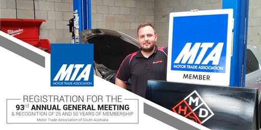 93rd MTA Annual General Meeting