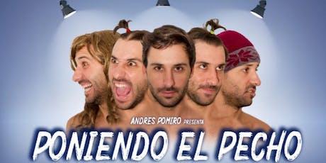 """PONIENDO EL PECHO """"CHACO"""" entradas"""