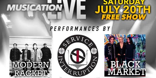 Saturday July 20th Musication Live