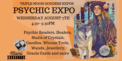 Psychic Expo -Triple Moon Goddess Miami Marketta August