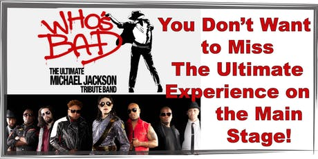 Who's Bad - The Ultimate Michael Jackson Tribute Band tickets