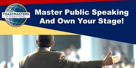 Develop Your Speaking Skills at Breakthrough Toastmasters Club! tickets