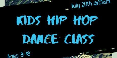 Kids Hip Hop Dance Class  tickets
