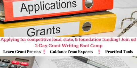 2-Day Grant Writing Boot Camp tickets