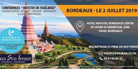 Conférence investir en Thaïlande billets