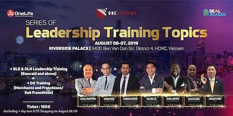 Series of Leadership training topics : Ho Chi Minh City, Viet Nam tickets