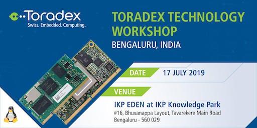 Toradex Technology Workshop 2019, Bengaluru, India