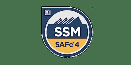 SAFe® Scrum Master (SSM) Certification Workshop - Herndon, VA tickets