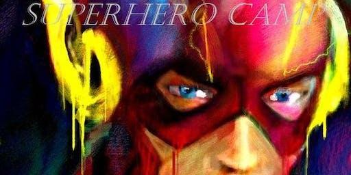 Movie and Art Camp: Superhero Themed!