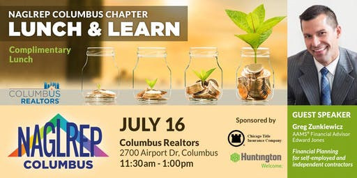 NAGLREP Columbus Lunch & Learn July 16