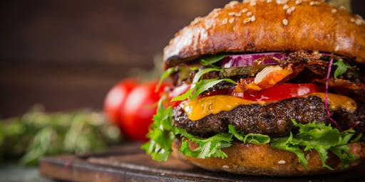 """Vegan Cooking Class: Cook, Chat and Chew """"The Cheeseburger Edition"""""""