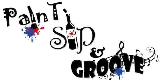 Paint, Sip & Groove Part 3