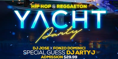 """THE FUN BOAT"" REGGAETON HIP HOP BOAT PARTY"