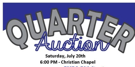 BlueLight Ministries Quarter Auction Fundraiser tickets