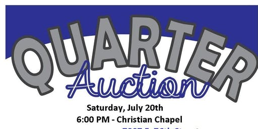 BlueLight Ministries Quarter Auction Fundraiser