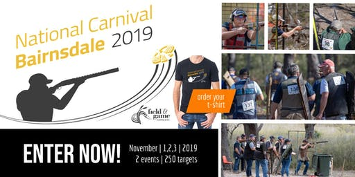 2019 Field & Game Australia National Carnival - 150 Target Main Event