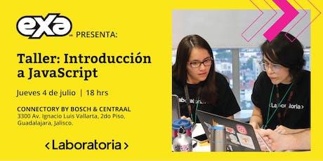EXA presenta: Taller de Introducción a JavaScript by Laboratoria entradas