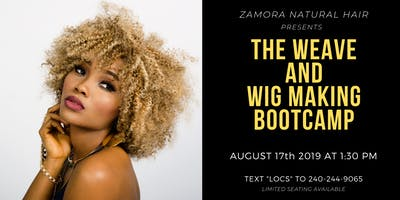 Weave & Wig Making Boot Camp