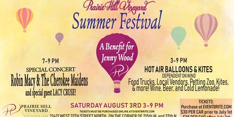 Prairie Hill Vineyard Summer Festival  tickets