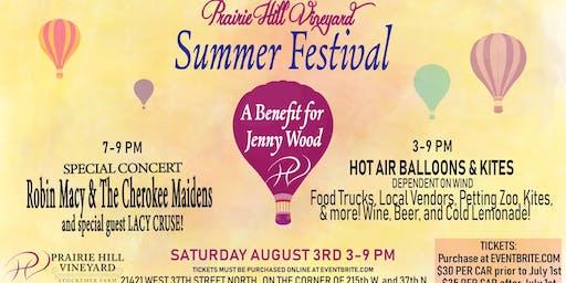 Prairie Hill Vineyard Summer Festival