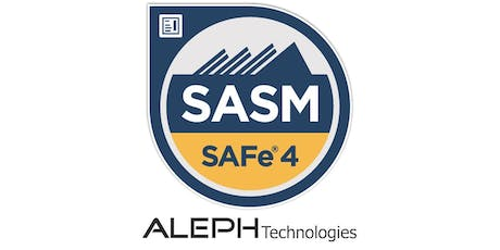 SAFe® Advanced Scrum Master (SASM) - Seattle, Washington tickets