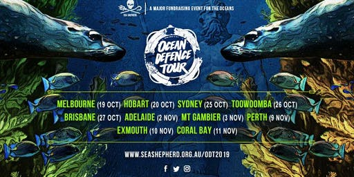 Sea Shepherd's Ocean Defence Tour - PERTH