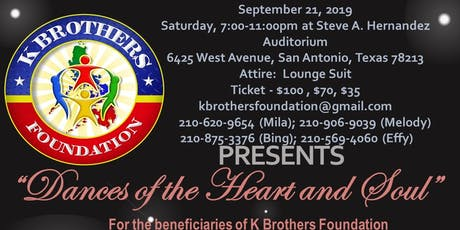 K BROTHERS FOUNDATION PRESENTS:  DANCES OF THE HEART AND SOUL tickets