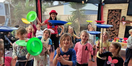 Cooinda | Circus Skills  School Holidays | School Holidays tickets