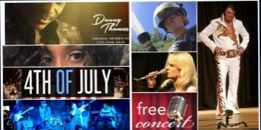 4th of July  FREE Concert