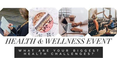 Health and Wellness Sip n Sample