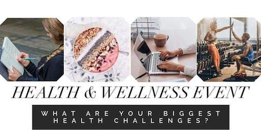Health and Wellness Sip n Sample