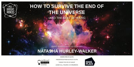 How to Survive the End of the Universe (and the Next 50 Years) tickets