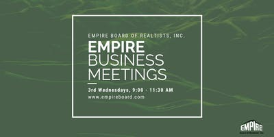 Empire Board of Realtists General Business Meeting(s)