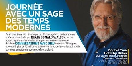 Journée d'inspiration avec l'auteur NEALE DONALD WALSCH à Montréal billets