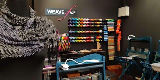 Weave.Quickie - floor loom weaving experience