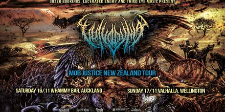 VULVODYNIA - Mob Justice New Zealand Tour - WELLINGTON tickets