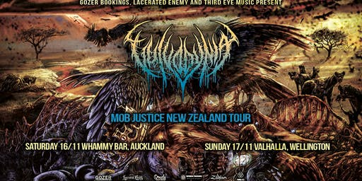 VULVODYNIA - Mob Justice New Zealand Tour - WELLINGTON